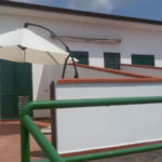 Wohnung am Strand - Terrasse