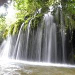 Die Wasserfälle der Venushaare in Casaletto Spartano