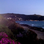 Vista mare e spiaggia dal belvedere