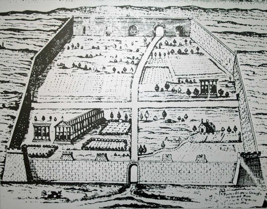 Map of Paestum 1732